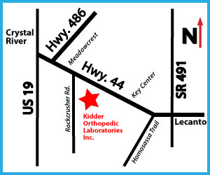 Kidder Orthopedic Map